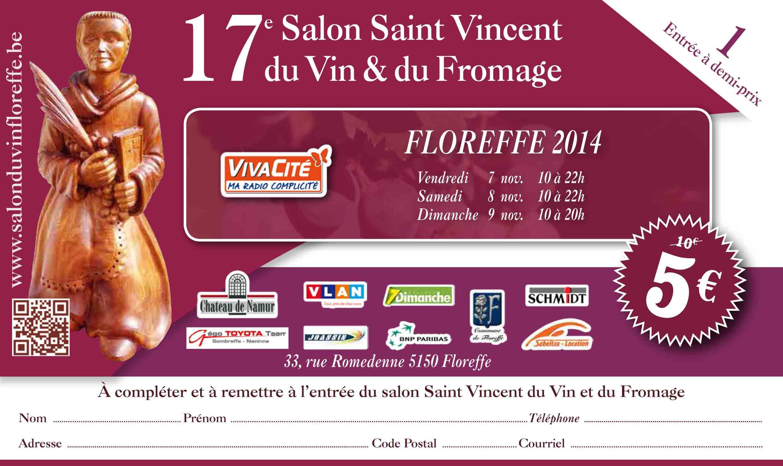 19 me salon saint vincent du vin floreffe for Salon du vin nice