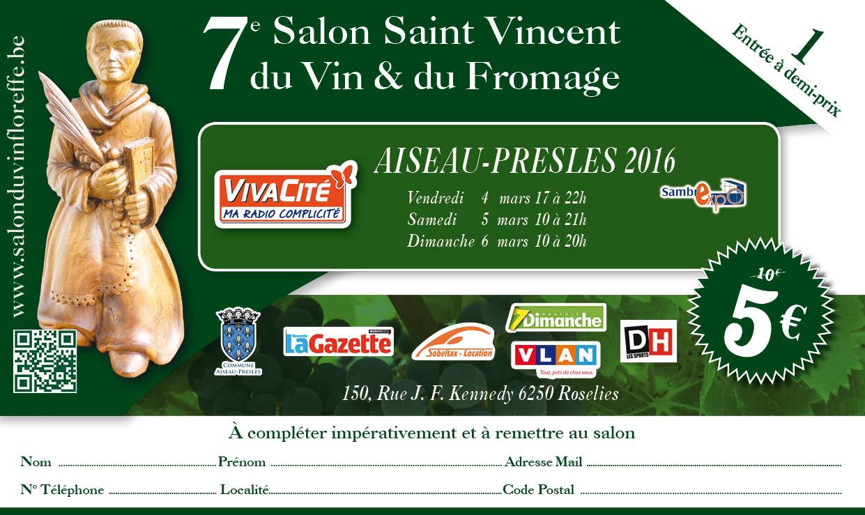 Le salon du vin et du fromage de floreffe promo demi tarifs - Floreffe salon du vin ...