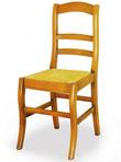 landelijke stoel met biezen RG 81